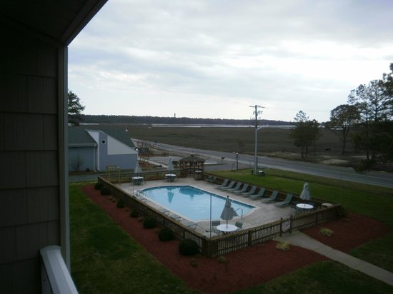 BEST WESTERN PLUS Chincoteague Island: View from our room
