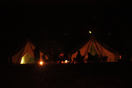 Andhra Pradesh, India: Tents