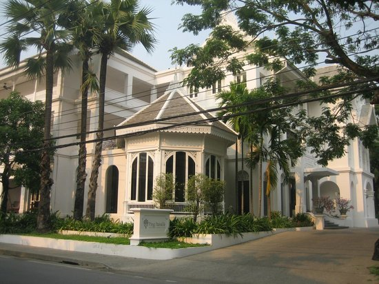 Ping Nakara Boutique Hotel & Spa: Hotel front view