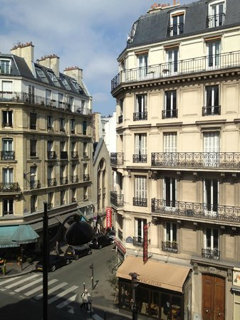 Hotel SAINT-JACQUES: Visuale balcone camera