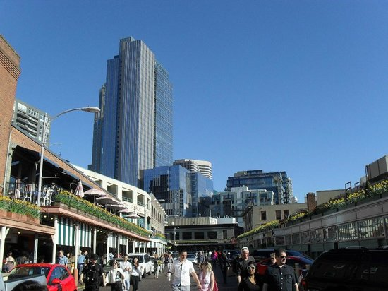 BEST WESTERN PLUS Pioneer Square Hotel: City sky line