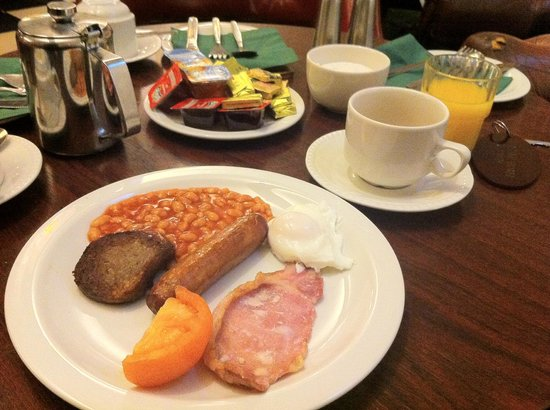 Castle Hotel: Irish breakfast