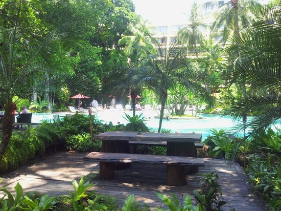 Swissotel Nai Lert Park : Pool area 