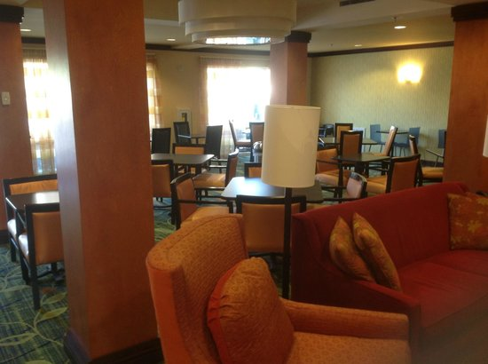 Fairfield Inn & Suites Titusville Kennedy Space Center: Part of dining area