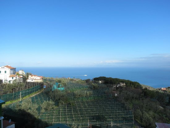 Il Nido Hotel Sorrento: View from balcony