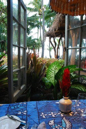 Paia, : View from our table