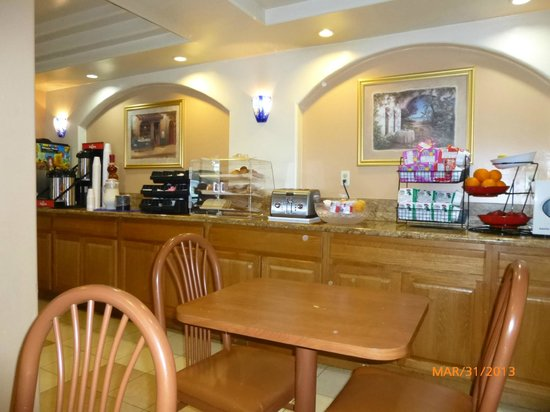 Ramada Marina Del Ray: Breakfast area