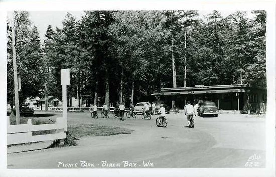 Blaine, WA: Bay Cafe in the 1950's