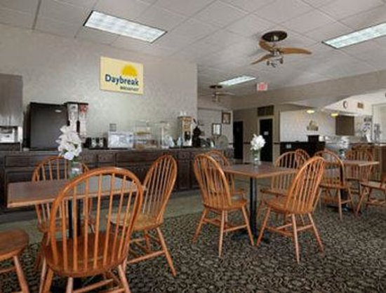 Days Inn Washington: Breakfast Area