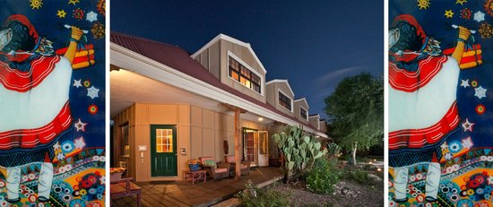 Tubac Country Inn: Clear skies and Starry nights