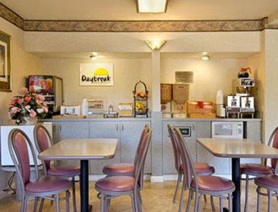 Days Inn Woodland: Breakfast Area