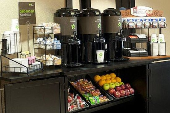 Extended Stay America - Asheville - Tunnel Rd.: Free grab-and-go breakfast