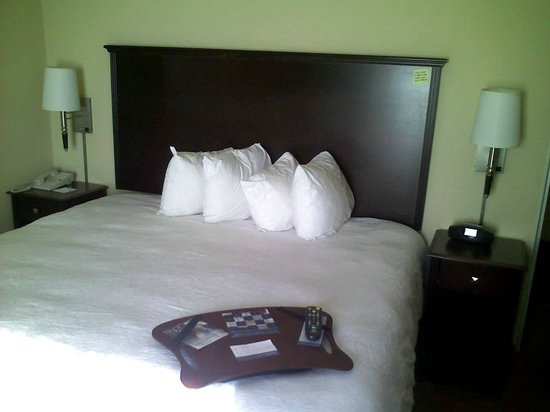 Hampton Inn &amp; Suites Rogers: Bed
