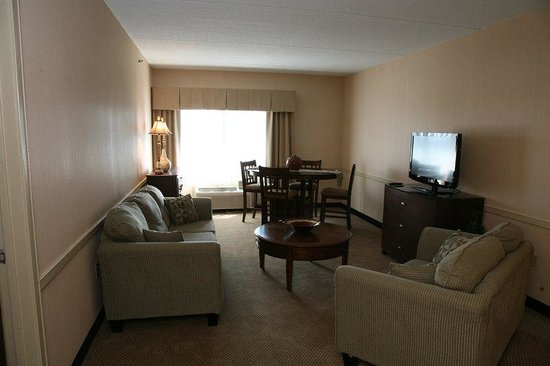 Taunton, MA: King Bedded Suite - Living Area