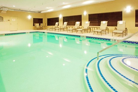Chestertown, MD : Relax in our indoor pool, open all year.