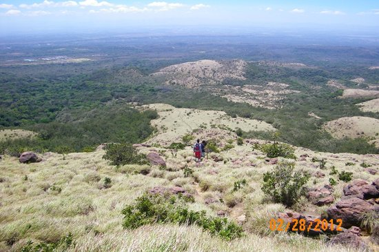 Hospedaje Dodero: hiking on Rincon