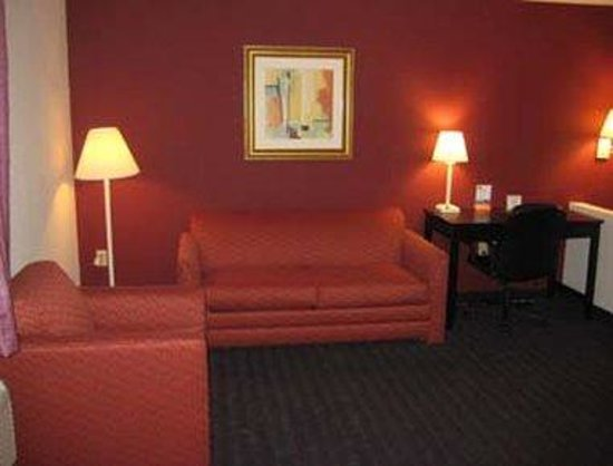 Howard Johnson Express Inn &amp; Suites - South Tampa / Airport: Suite - Living Room