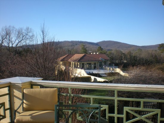 Keswick, VA: Private Balcony