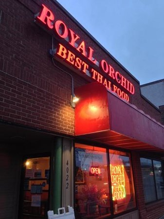 Columbia Heights, Μινεσότα: Royal Orchid Restaurant