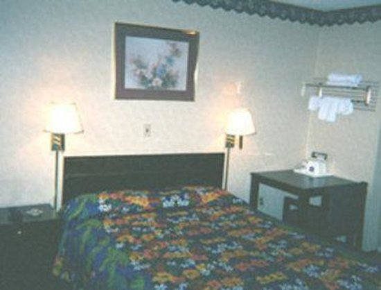 Knights Inn Newark Airport-Elizabeth: Guest Room One Bed