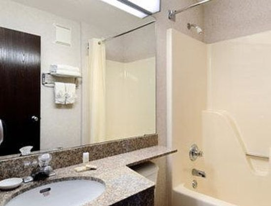 Microtel Inn & Suites by Wyndham Rochester: Bathroom