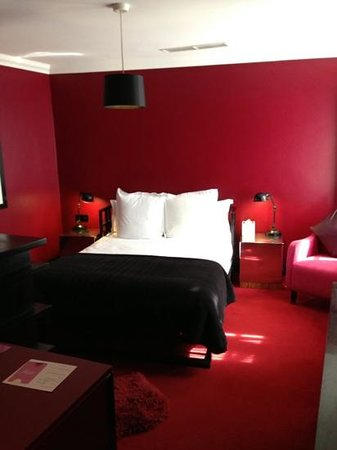 myhotel Chelsea: Ruby room 1