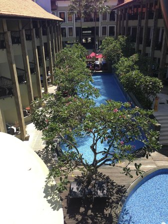 All Seasons Legian Bali: Pool View Room