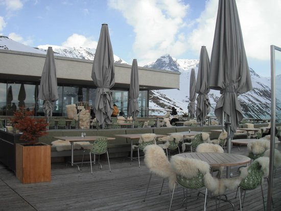 Samedan, Schweiz: Outside Terrace