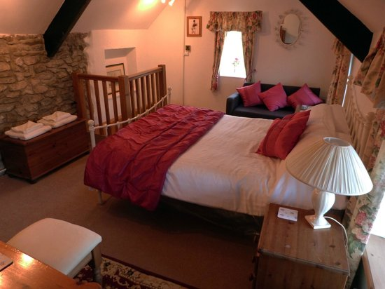Wotton-under-Edge, UK: Cottage Bedroom