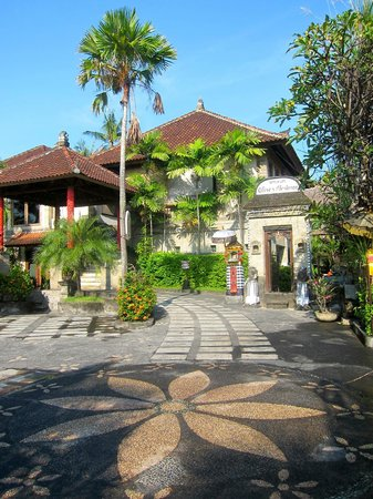 Tamukami Hotel: Front of Hotel