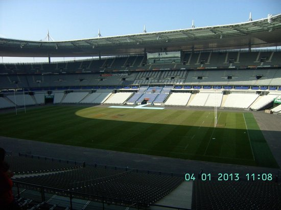 View from u2 seating picture of stade de france saint denis tripadvisor - Location loge stade de france ...