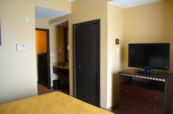 Comfort Suites DFW Airport: Hall Area