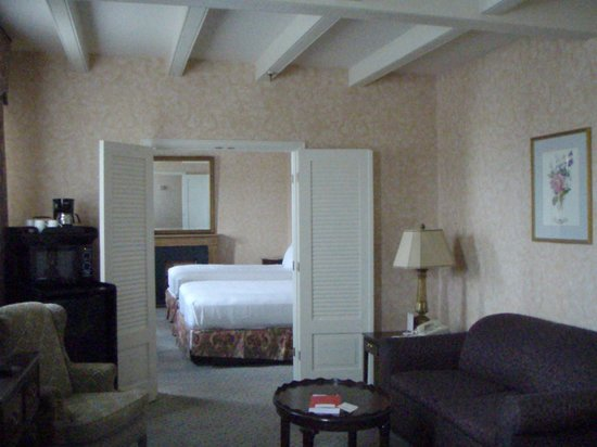 Prince Conti Hotel: Room #351, showing sitting room and bedroom