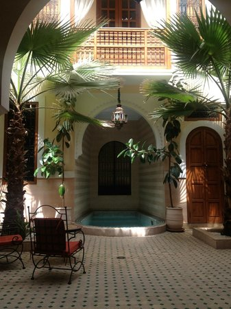 Riad RabahSadia: Le patio