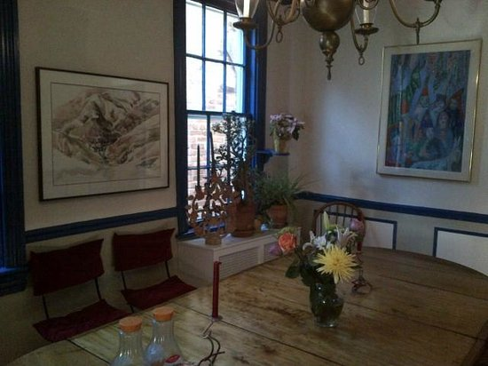 Celia's Place: The dining room