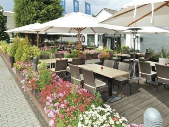 Monheim am Rhein, : Terrace