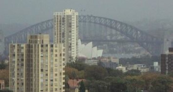 Meriton Serviced Apartments Bondi Junction: View from room 1110