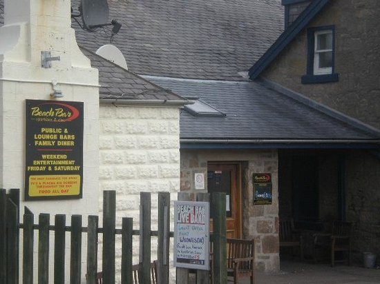 Lossiemouth, UK: Beach Bar April 2013