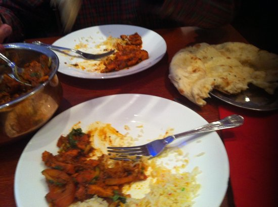 Middag med niecen picture of aladin brick lane london for Aladdin indian cuisine