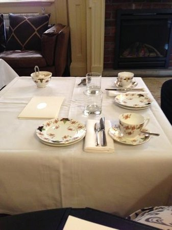 The Angel: Table for afternoon tea