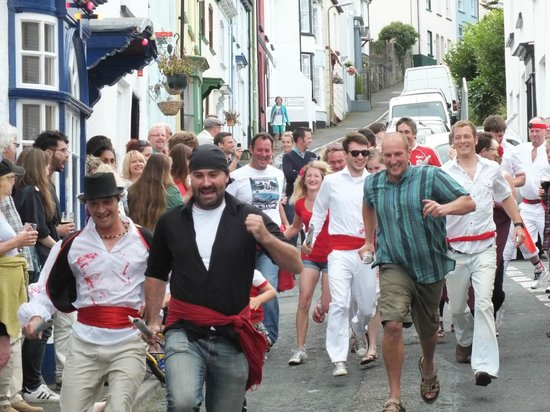 The first Appledore Bull Run
