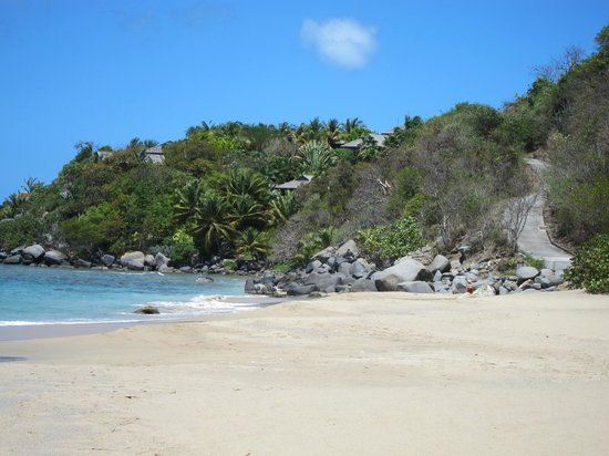 Spanish Town, Virgen Gorda: Mountain Trunk Beach