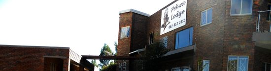 Roodepoort, Sydafrika: Entrance to Pekwa Lodge
