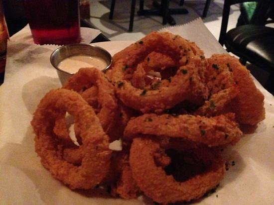 Hanover, NH: onion rings