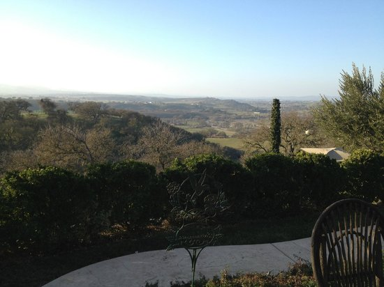 High Ridge Manor: Great panoramic view