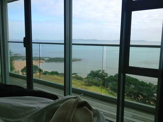 Cable Bay, Selandia Baru: Waking up to a magic view