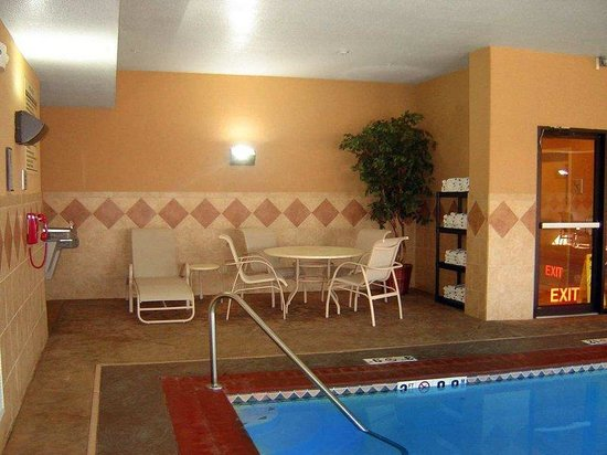 Hampton Inn Kansas City/near Worlds of Fun: Indoor Pool Area