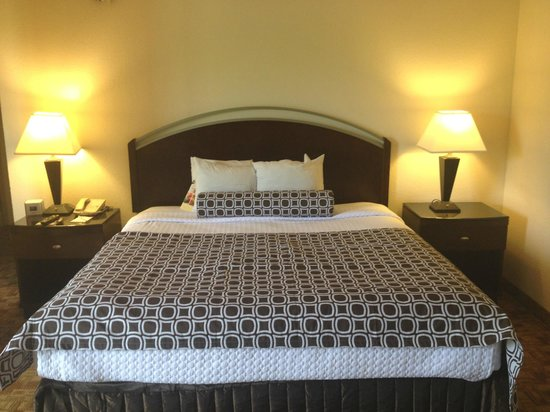 Crowne Plaza Austin : LOOKS nice, but it's OLD