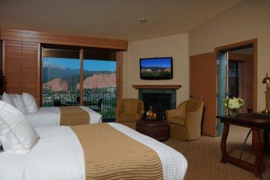 The Lodge at Garden of the Gods Club, Colorado Springs : Garden of the Gods Suite (Double)