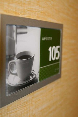 Hampton Inn Brentwood: Room Plaque